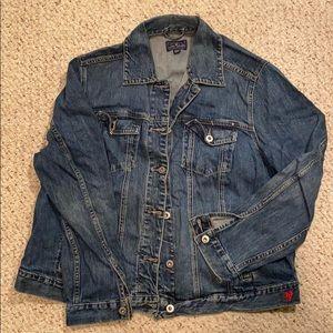 Lucky Brand denim jacket size 2x